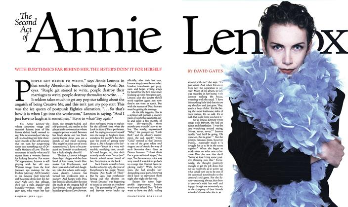 Article Preview: The Second Act of Annie Lennox, JULY 1992 1992 | Esquire