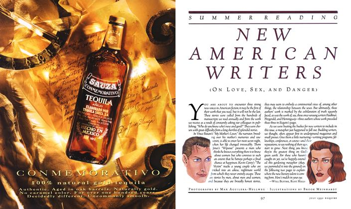 Article Preview: New American Writers, July 1992 | Esquire