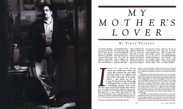 Article Preview: My Mother's Lover, JULY 1992 1992 | Esquire