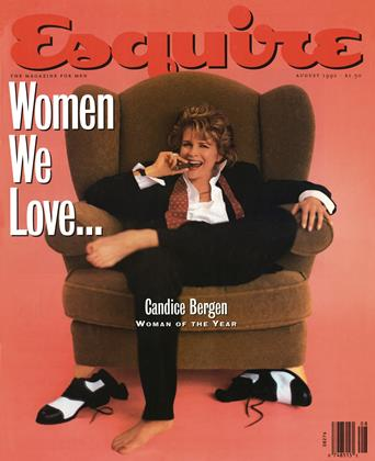 Cover for the August 1992 issue