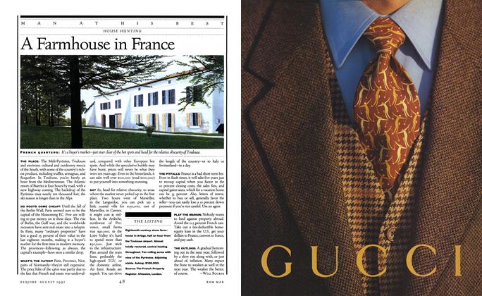 Article Preview: A Farmhouse in France, August 1992 | Esquire