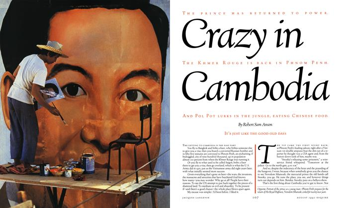 Article Preview: Crazy in Cambodia, August 1992 | Esquire