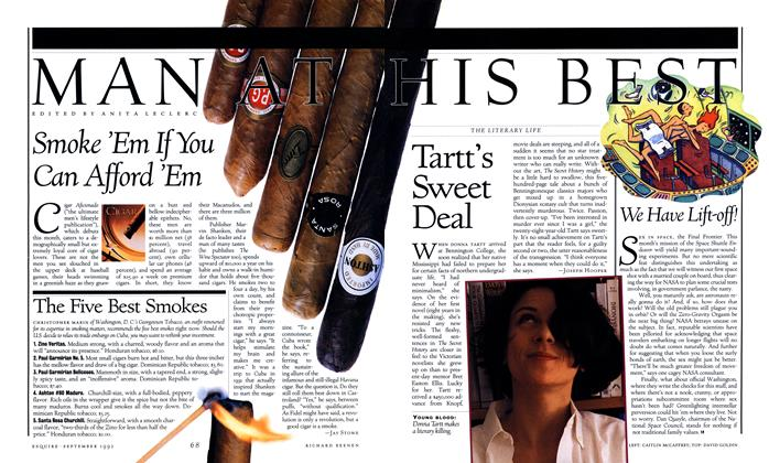 Article Preview: Tartt's Sweet Deal, SEPTEMBER 1992 1992 | Esquire