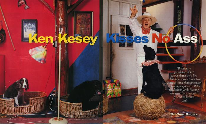 Ken Kesey Kisses No Ass