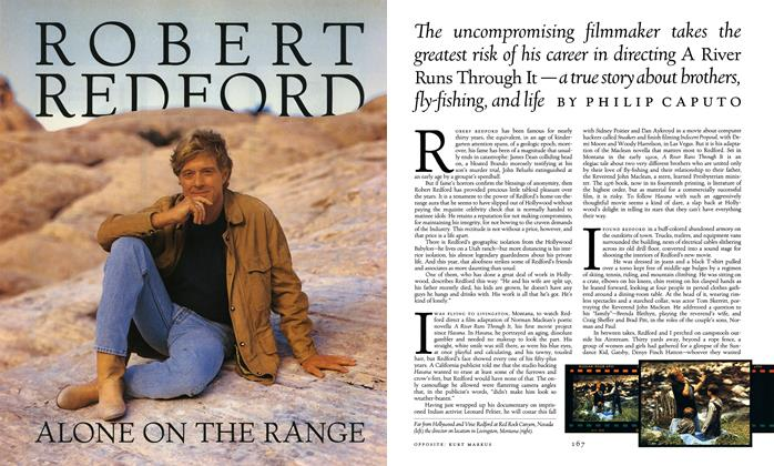 Robert Redford Alone on the Range