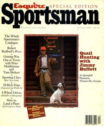Cover for the AUTUMN 1992 issue