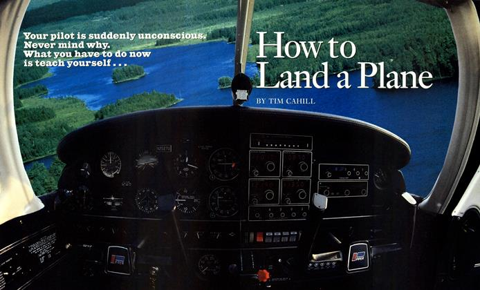 Article Preview: How to Land a Plane, AUTUMN 1992 | Esquire