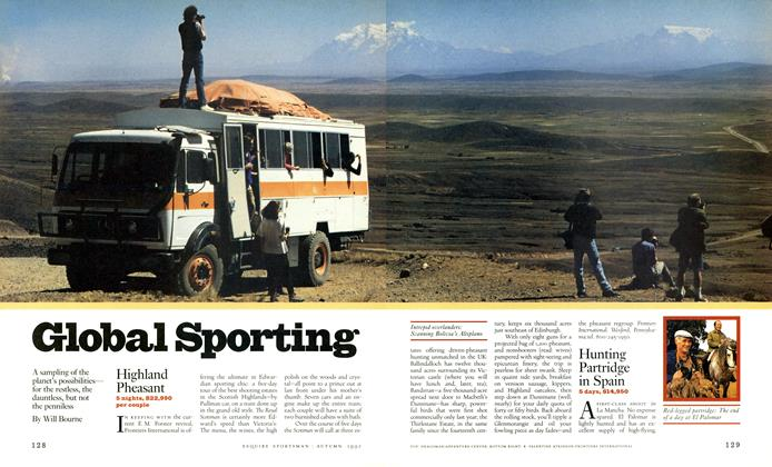Article Preview: Global Sporting, AUTUMN 1992 1992 | Esquire