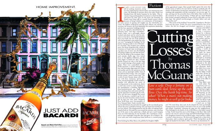 Article Preview: Cutting Losses, OCTOBER 1992 1992 | Esquire
