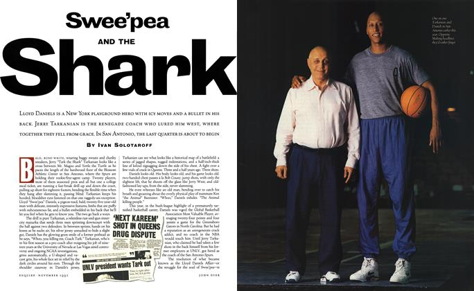 Article Preview: Swee'pea and the Shark, November 1992 | Esquire