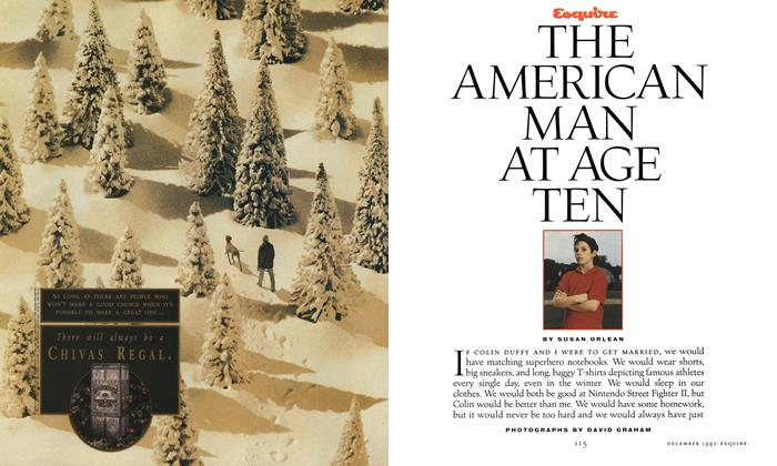 Article Preview: The American Man at Age Ten, December 1992 | Esquire