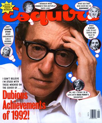 Cover for the January 1993 issue