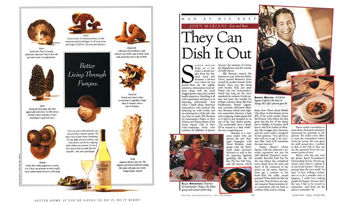 Article Preview: They Can Dish It Out, JANUARY 1993 1993 | Esquire
