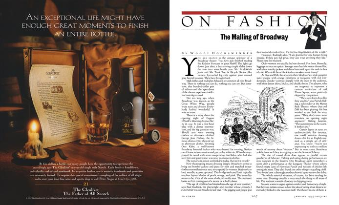 Article Preview: The Malling of Broadway, JANUARY 1993 1993 | Esquire