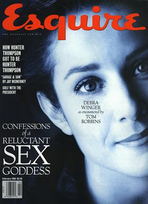 Cover for the February 1993 1993 issue