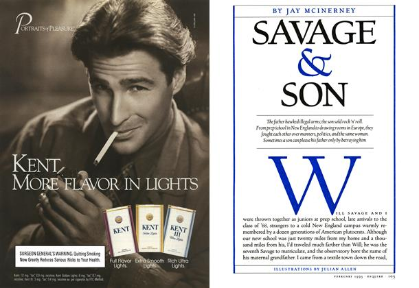 Article Preview: Savage & Son, February 1993 1993 | Esquire