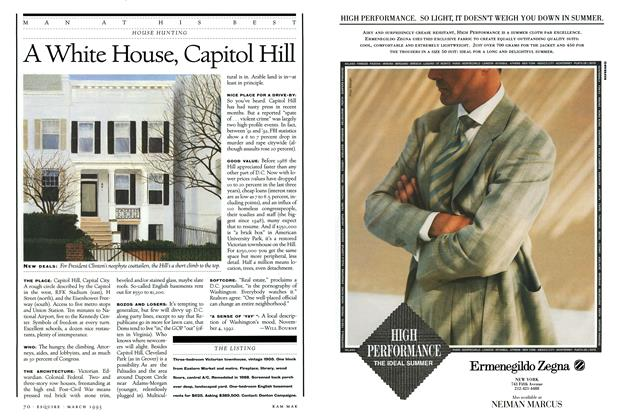 Article Preview: A White House, Capitol Hill, March 1993 1993 | Esquire