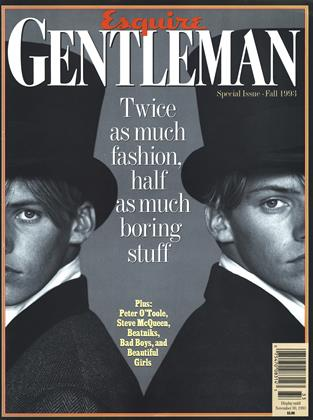 Cover for the Fall 1993 1993 issue