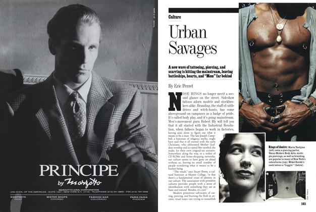 Article Preview: Urban Savages, Fall 1993 1993 | Esquire
