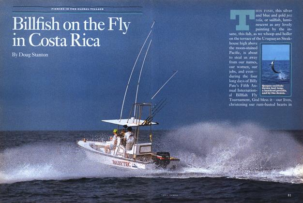 Article Preview: Billfish on the Fly in Costa Rica, Spring • Summer 1993 1993 | Esquire