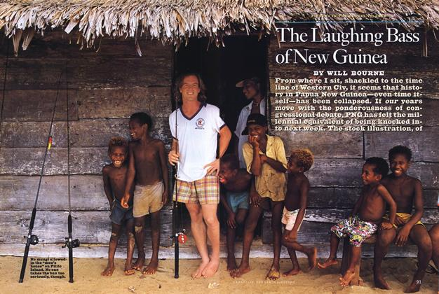 Article Preview: The Laughing Bass of New Guinea, Spring • Summer 1993 1993 | Esquire