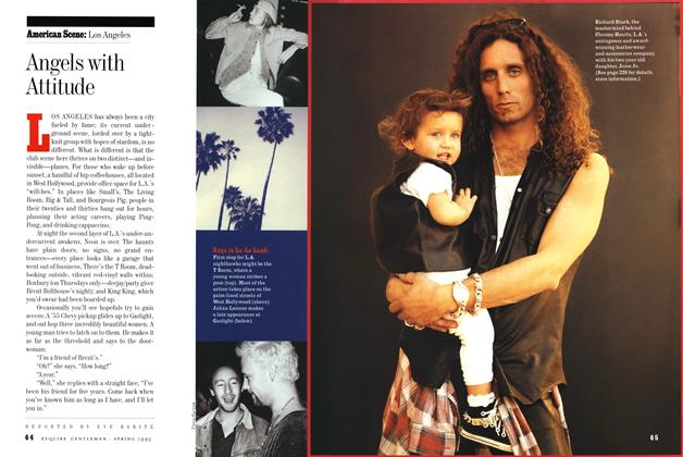 Article Preview: Angels with Attitude, Spring-Summer 1993 1993   Esquire