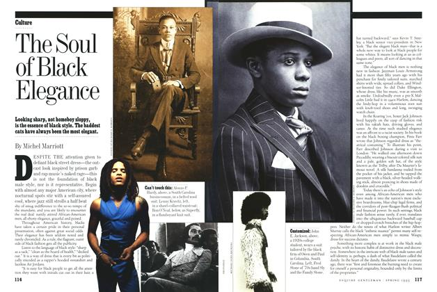 Article Preview: The Soul of Black Elegance, Spring-Summer 1993 1993 | Esquire