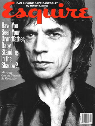 Cover for the April 1993 issue