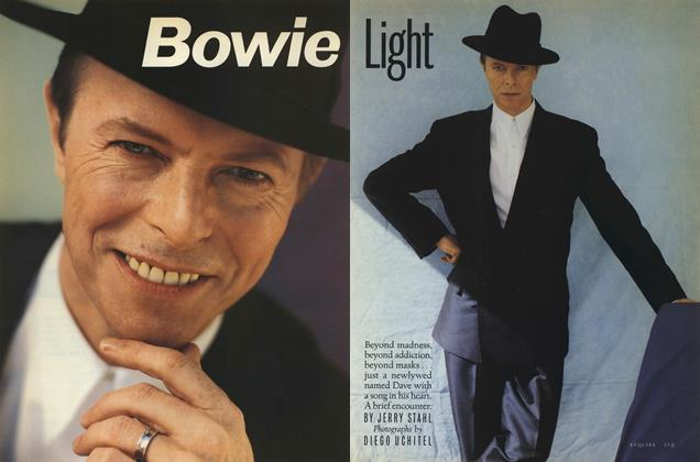 Article Preview: Bowie Light, MAY 1993 1993 | Esquire