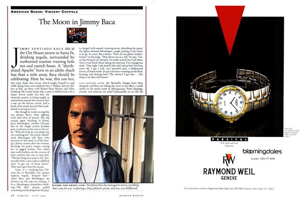 Article Preview: The Moon in Jimmy Baca, June 1993 | Esquire