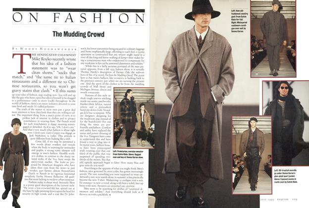 Article Preview: The Mudding Crowd, JULY 1993 1993 | Esquire