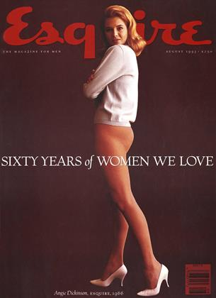 Cover for the August 1993 issue