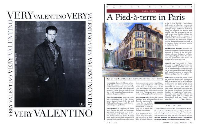 Article Preview: A Pied-à-terre in Paris, SEPTEMBER 1993 1993 | Esquire