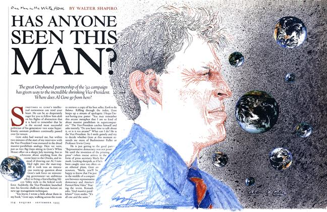 Article Preview: Has Anyone Seen This Man?, SEPTEMBER 1993 1993 | Esquire