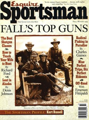 Cover for the FALL/WINTER 1993 issue
