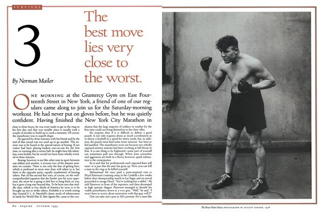 Article Preview: No. 3: The best move lies very close to the worst., October 1993 | Esquire