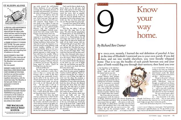 Article Preview: No. 9: Know your way home., October 1993 | Esquire