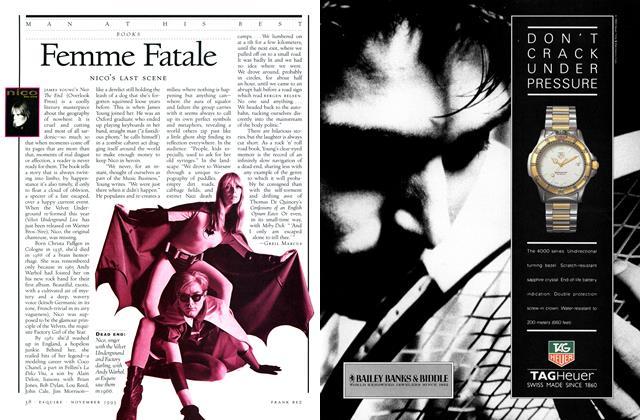 Article Preview: Femme Fatale, November 1993 | Esquire
