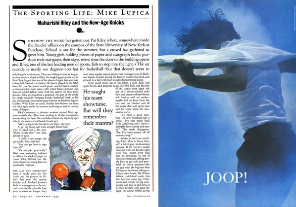 Article Preview: Maharishi Riley and the New-Age Knicks, NOVEMBER 1993 1993 | Esquire
