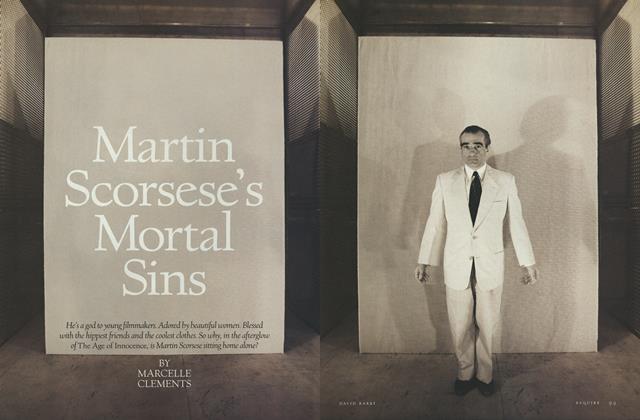 Article Preview: Martin Scorsese's Mortal Sins, November 1993 | Esquire