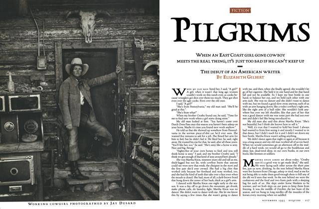 Article Preview: Pilgrims, NOVEMBER 1993 1993 | Esquire