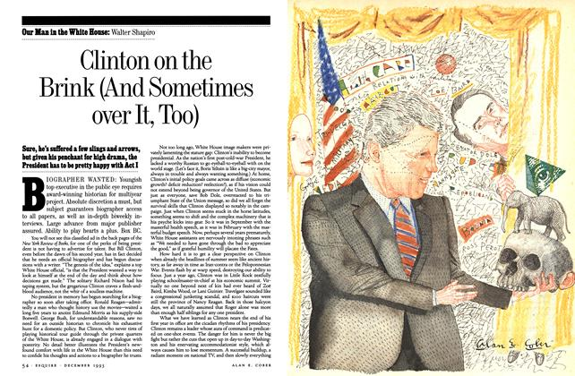 Clinton on the Brink (And Sometimes over It, Too)