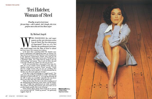 Teri Hatcher, Woman of Steel