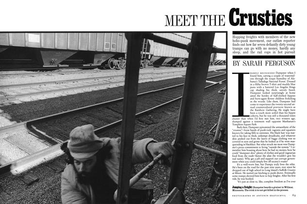 Article Preview: MEET THE Crusties, January 1994 | Esquire