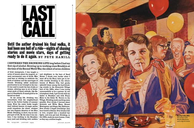 Article Preview: Last Call, January 1994 | Esquire
