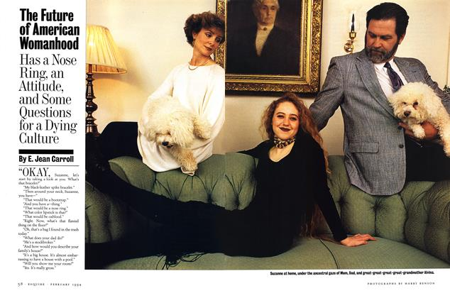 Article Preview: The Future of American Womanhood, FEBRUARY 1994 1994 | Esquire