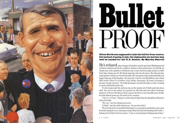 Article Preview: Bullet Proof, FEBRUARY 1994 1994 | Esquire