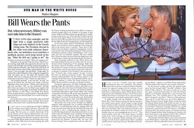 Article Preview: Bill Wears the Pants, MARCH 1994 1994 | Esquire