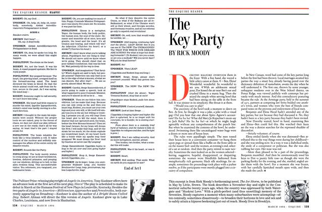 Article Preview: The Key Party, MARCH 1994 1994 | Esquire