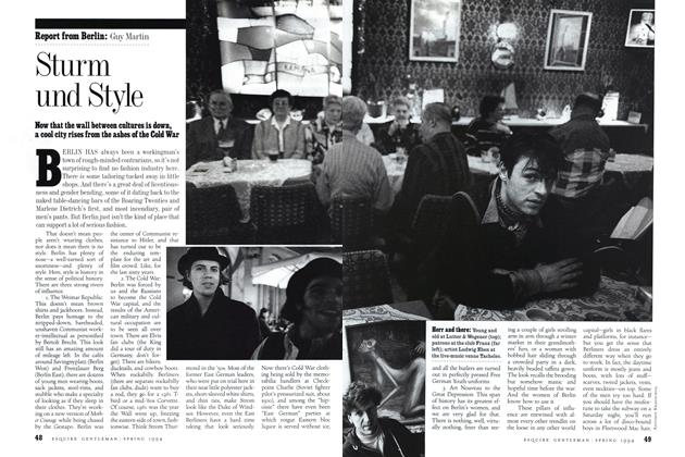 Article Preview: Sturm und Style, Spring 1994 1994   Esquire